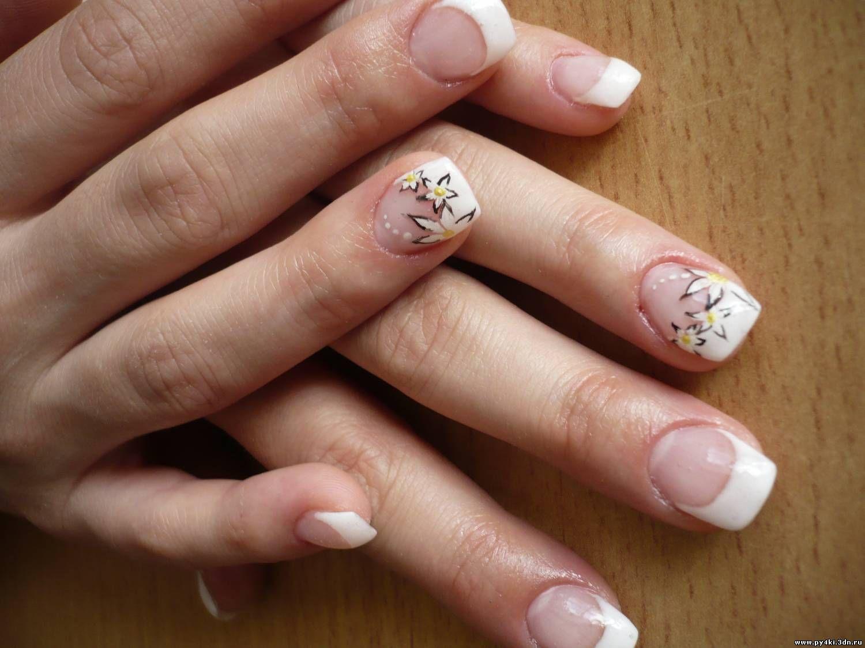 Ногти не большие фото маникюра