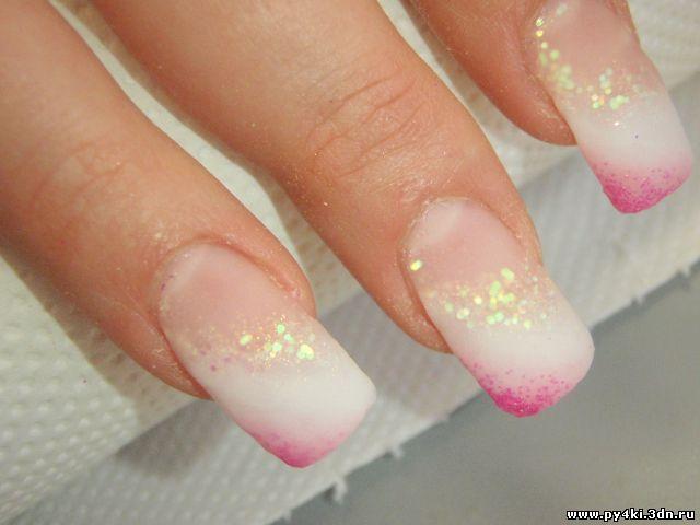 Нарощенные ногти пошагово 69