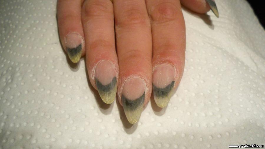 дизайн ногтей с перышками фото