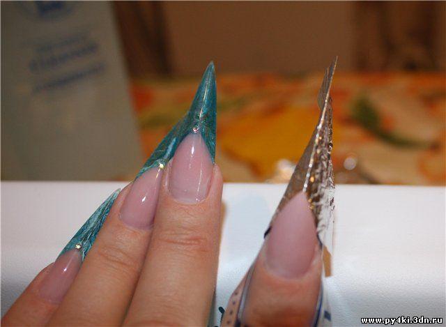 Как сделать стилет ногти