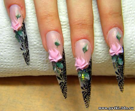 миньоны ногти фото