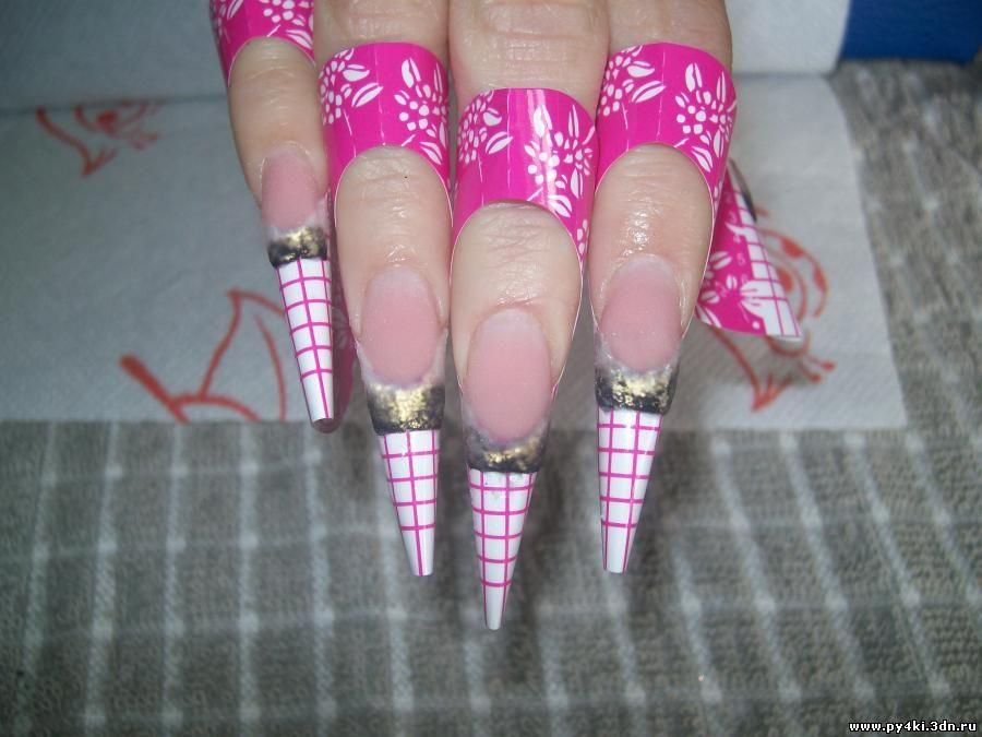 китайская роспись ногтей пошагово фото.
