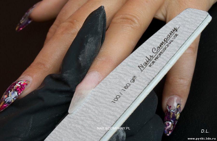 Как сделать аквариумные ногти гелем 330
