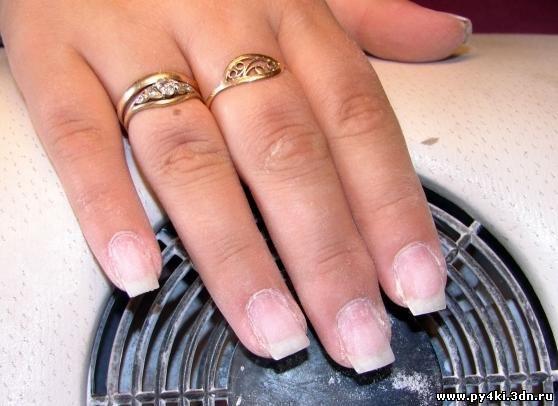 не сложный дизайн ногтей: