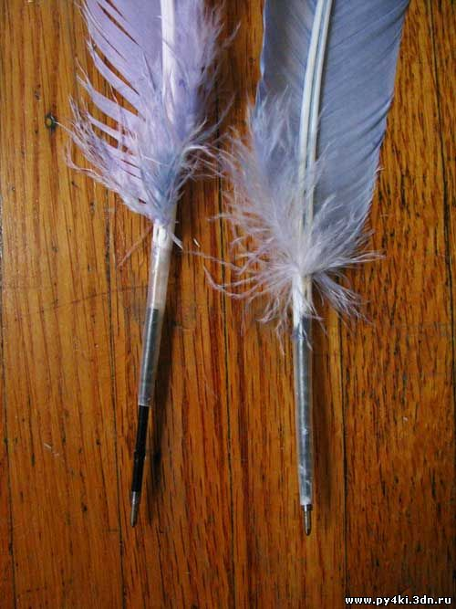 Перьевая ручка как сделать