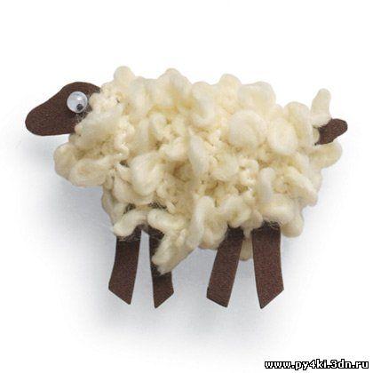 Игрушка симпатичная овечка