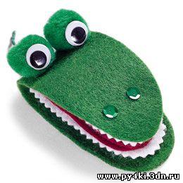 Пенал для швейных принадлежностей Крокодил Гена.