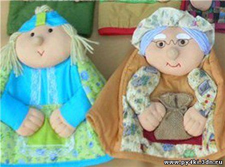 Лоскутные игрушки для детей