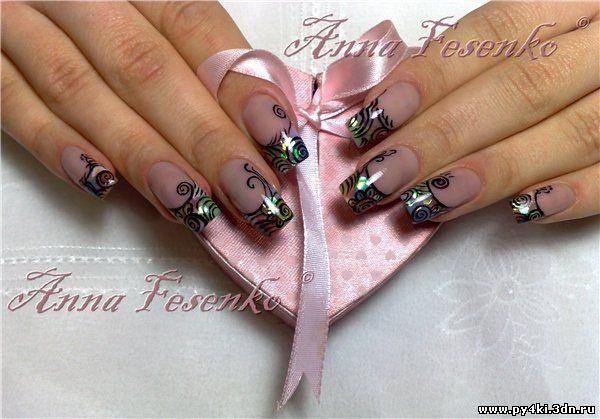 дизайн ногтей 2012 мастер класс: