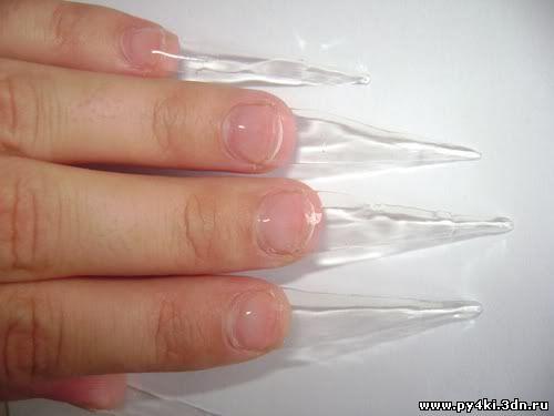 Наращивание ногтей гелем поэтапно с