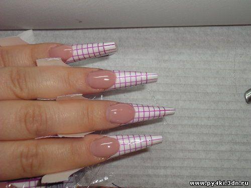 удлинение ногтевого ложе