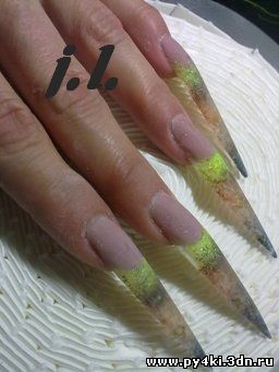 придаем форму ногтям
