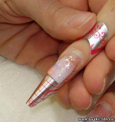 наращивание ногтей акрилом обучение