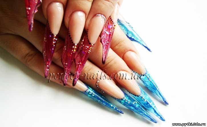 Мастер класс по форме ногтей