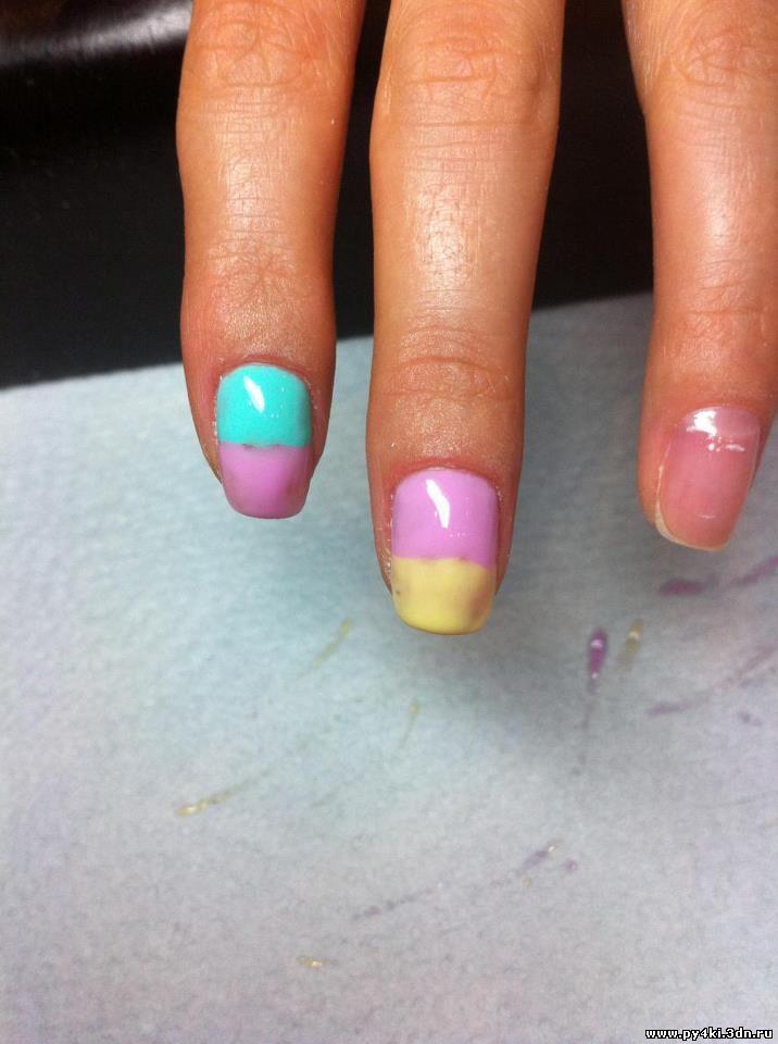Дизайн ногтей по трафаретам