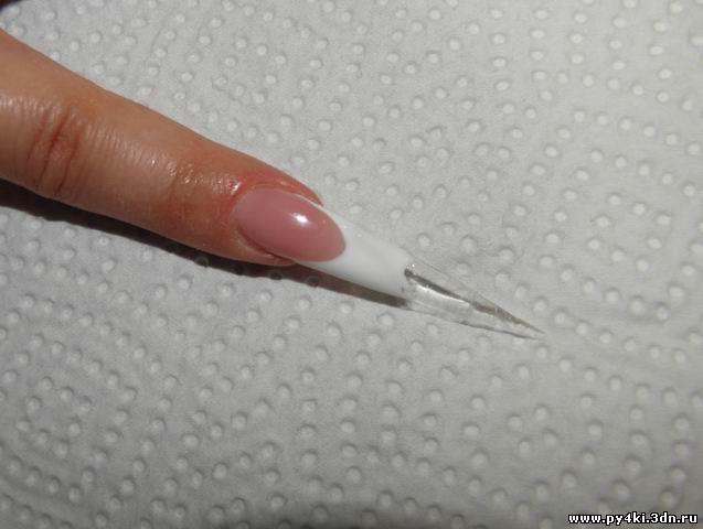 Дизайн сахарный ноготь