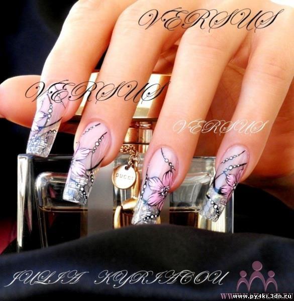 Дизайн ногтей фото работ