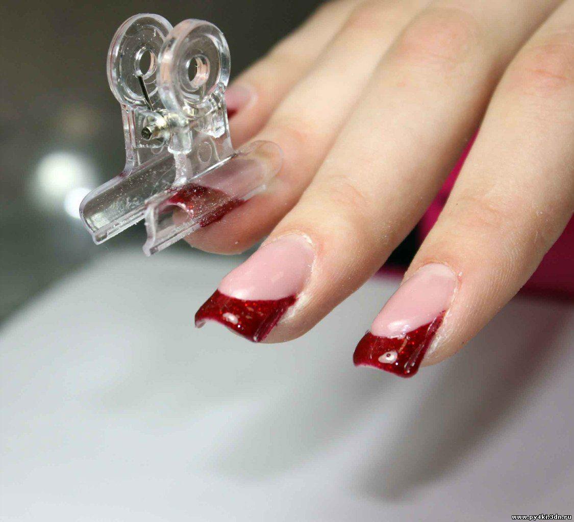 Как нарастить идеальные гелевые ногти на формах