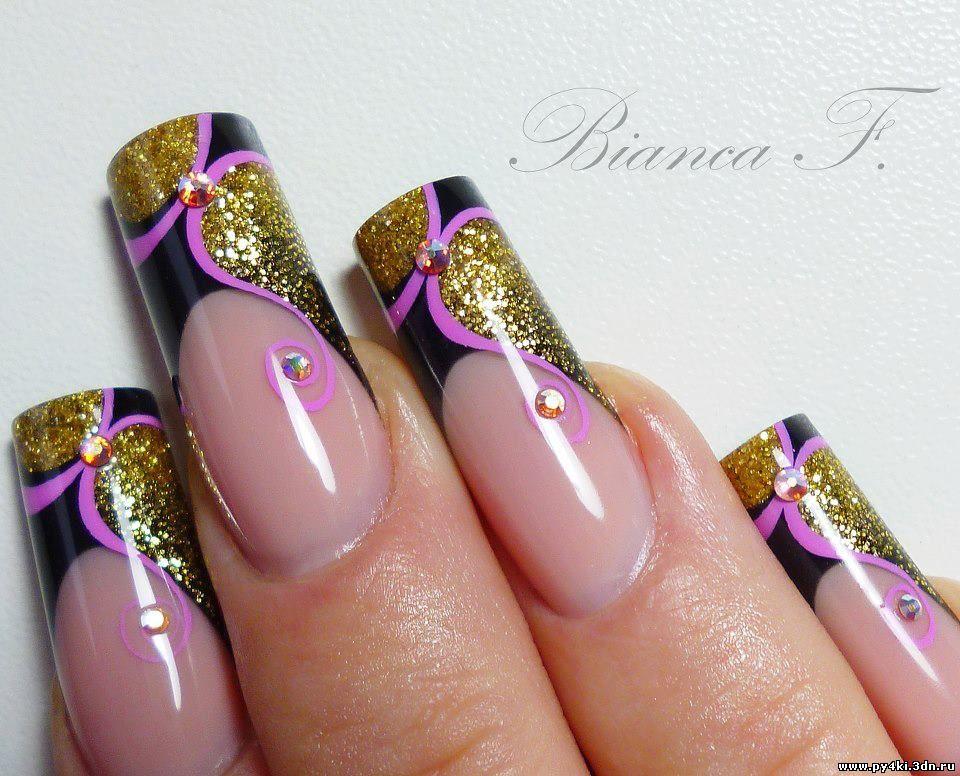 Дизайн ногтей фото абстракция фото