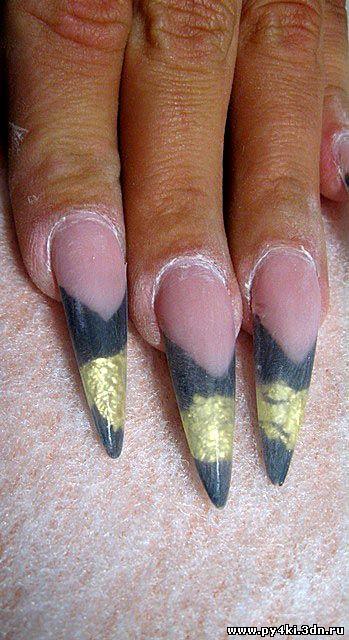 домашние рисунки +на ногтях