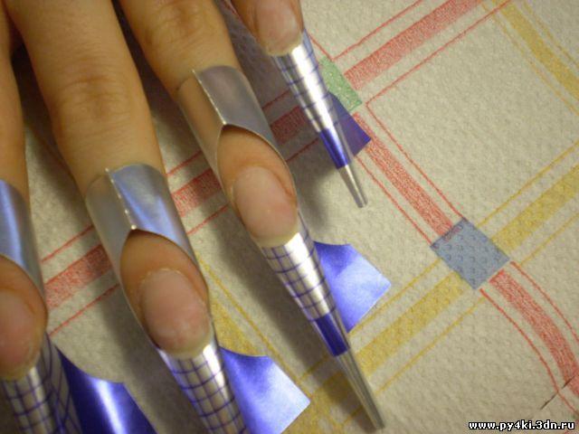 +как подготовить ногти +к наращиванию