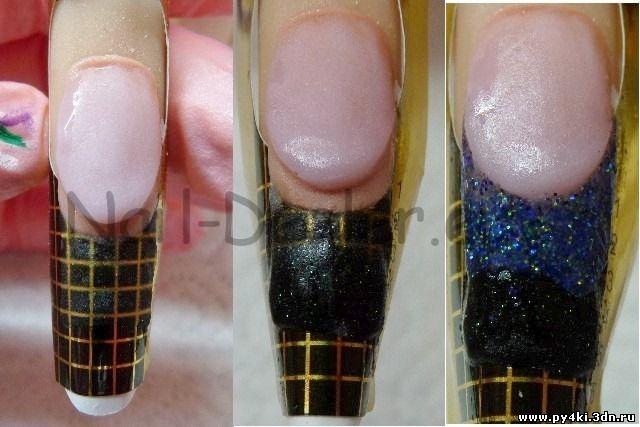 типсы для наращивания ногтей гелем фото