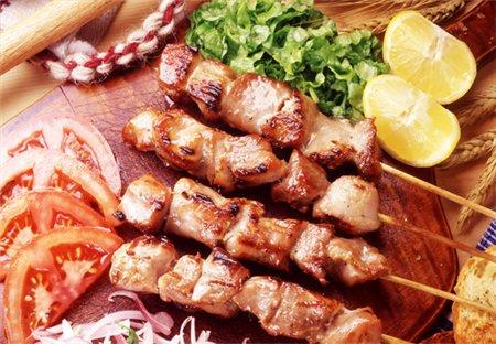 Сувлаки - греческий шашлык