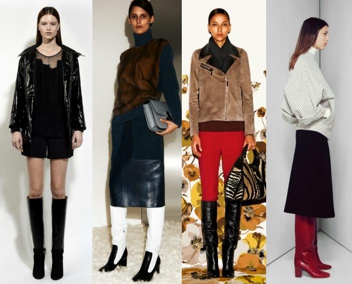 Модные ботинки зима 2012/2013