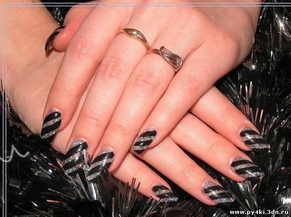Наращивание ногтей на своих руках