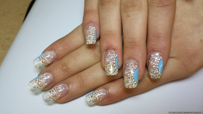 Дизайн ногтей со скорпионом фото